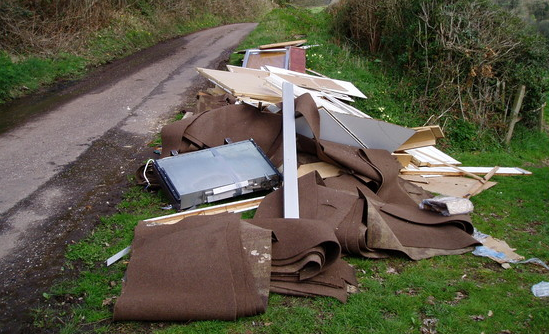 Nottinghamshire Tip Closure Causing Increase In Fly-Tipping
