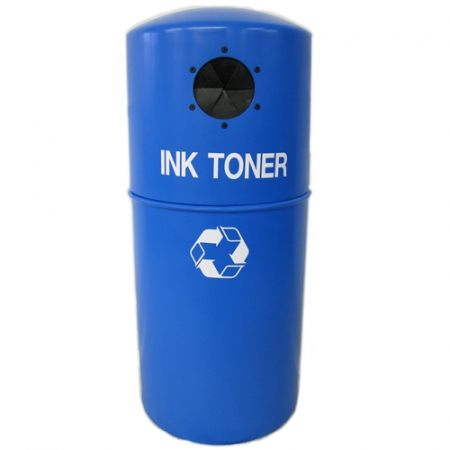 Ink Toner Cartridge Hooded Recycling Bin