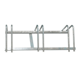 3 Space Galvanised Cycle Rack