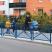 Jersey Pedestrian Safety Mesh Railing