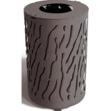 Venice Steel Litter Bin - 80 Litre
