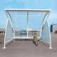 Moonshape Cycle Shelter with Cycle Rack