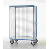 Heavy Duty Distribution Truck with Steel Shelves