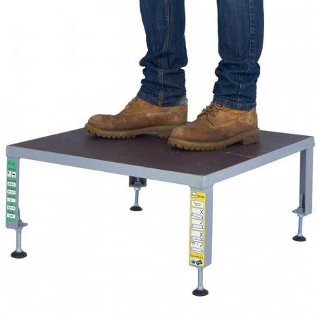 Fort Adjustable Phenolic Non-Slip Work Platform