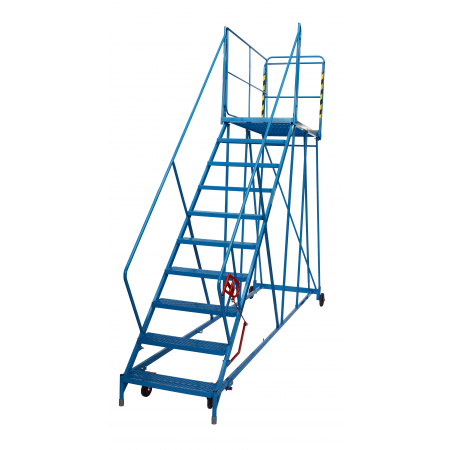 Fort 9 Tread Service Platform - 2250mm Platform Height