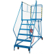 Fort 6 Tread Service Platform - 1500mm Platform Height