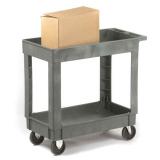 Plastic Service Trolley - 2 Trays