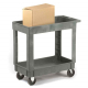 Plastic Service Trolley - 2 Trays