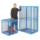 Gas Cylinder Steel Security Cage