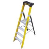 Climb-It Glass Fibre Platform Stepladders
