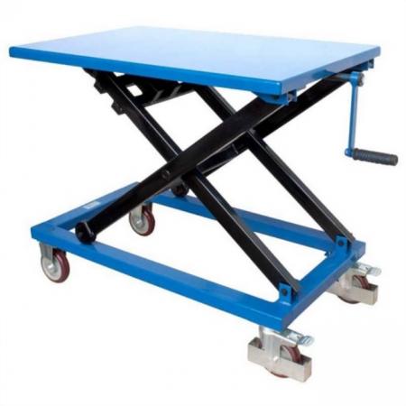 Winch Scissor Lift Table