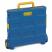 Blue & Yellow Economy Folding Box Truck - 25kg Capacity