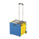 Blue & Yellow Folding Box Truck - 35kg Capacity
