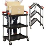 ProPlaz Folding Trolley - 75kg Capacity