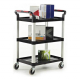 ProPlaz 3 Shelf Trolley - 150kg Capacity