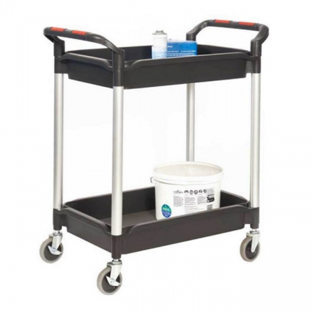 ProPlaz Plus Deep 2 Tray Trolley - 150kg Capacity