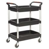 ProPlaz Plus Deep 3 Tray Trolley - 150kg Capacity
