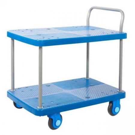 ProPlaz Super Silent Two Tier Platform Trolley - 300kg Capacity