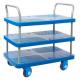ProPlaz Super Silent Three Tier Platform Trolley - 300kg Capacity
