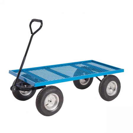 REACH Compliant General Purpose Truck with Puncture Proof Wheels - 400kg Capacity