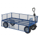 REACH Compliant Industrial General Purpose Truck with Mesh Sides - 500kg Capacity