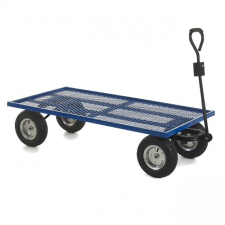 REACH Compliant Industrial General Purpose Truck with Puncture Proof Wheels - 500kg Capacity