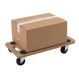 Four Wheeled Wooden Dolly - 150kg Capacity