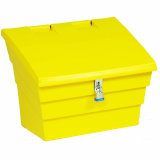 2 Cu Ft Lockable Grit Bin - 50 Litre / 50 kg Capacity