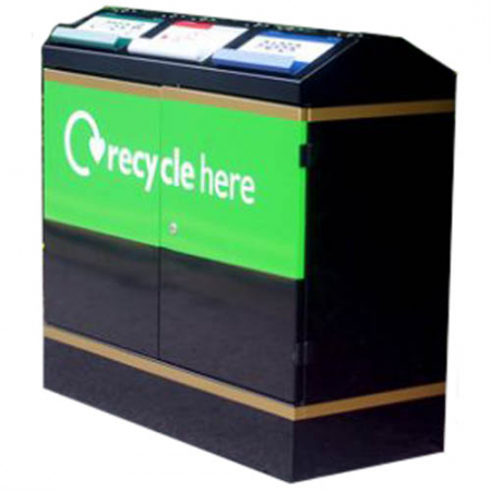 Terrace Recycling Bin - 300 Litre Capacity