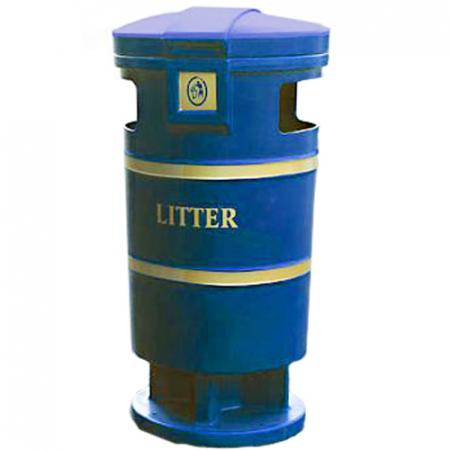 Squire Litter Bin - 100 Litre Capacity