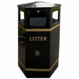 Citadel Litter Bin - 100 Litre Capacity