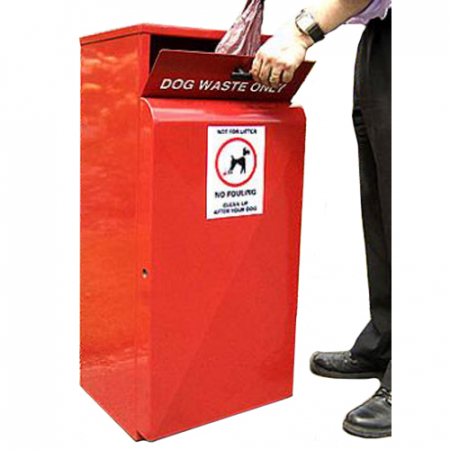 Valley Dog Waste Bin - 80 Litre Capacity
