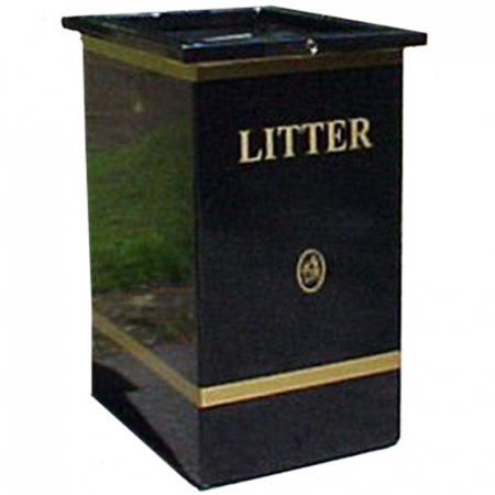 Godiva Open Top Litter Bin - 100 Litre Capacity