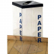 Greenline Clear Recycling Bin - 63 Litre