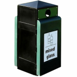 Glade Recycling Bin - 90 Litre Capacity