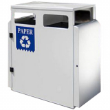Valley Recycling Bin - 200 Litre Capacity