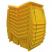 6 Cu Ft Lockable Grit Bin - 175 Litre / 175 kg Capacity