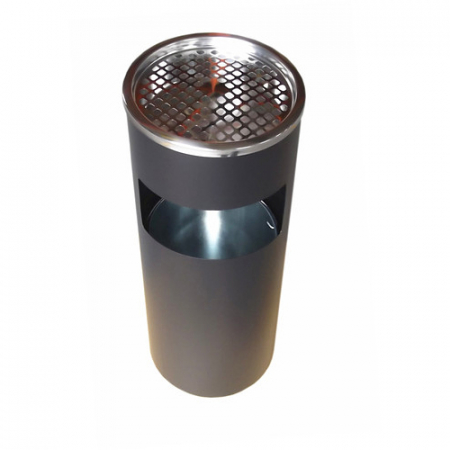 Lobby Style Cigarette and Litter Bin - 15 Litre