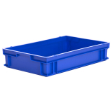 24L Euro Stacking Container - Solid Sides & Base - 600 x 400 x 120mm