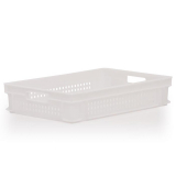 24L Euro Stacking Container - Perforated Sides & Base - 600 x 400 x 120mm