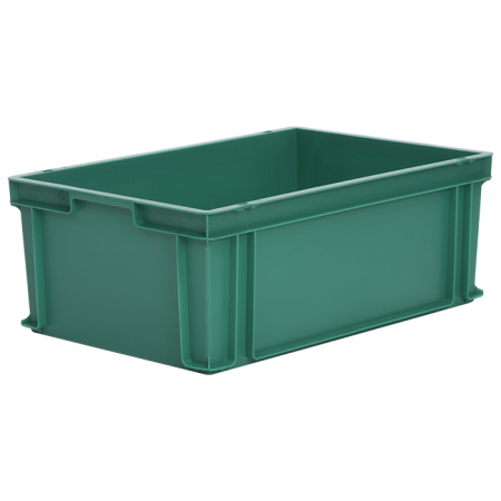 44L Euro Stacking Container - Solid Sides & Base - 600 x 400 x 220mm