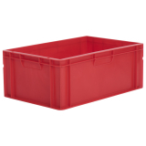 45L Euro Stacking Container - Solid Sides & Base - 600 x 400 x 235mm