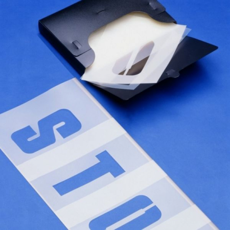 PROline 15cm Letters and Numbers Plastic Stencils Set