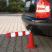 Traffic-Line FLEXback Traffic Post - 80mm Diameter x 460mm High