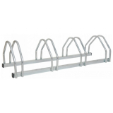Traffic-Line 4 Space Galvanised Steel Bicycle Rack