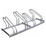 Traffic-Line 4 Space Lo-Hoop Bicycle Rack