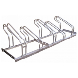 Traffic-Line 5 Space Lo-Hoop Bicycle Rack