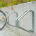 Traffic-Line Wall Mounted Bicycle Rack
