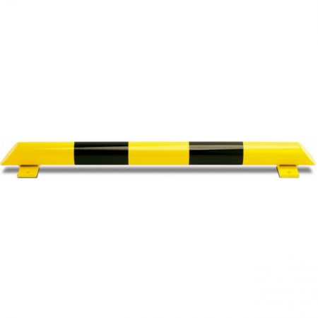 Black Bull Collision Protection Bars - 86 x 1200mm - Yellow and Black