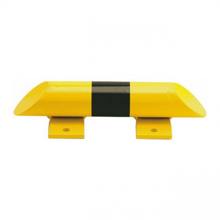 Black Bull Collision Protection Bars - 86 x 400mm - Yellow and Black